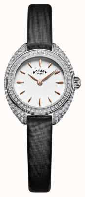 Rotary Womans minuta set argento pietra maglia LS05087/02