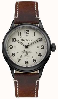 Barbour Mens Murton pelle marrone BB056CMBR