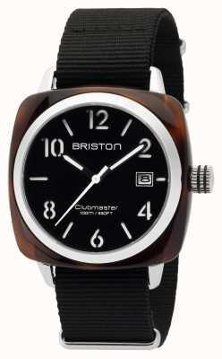 Briston Mens clubmaster classico acetato hms tartaruga guscio nero 16240.SA.T.1.NB