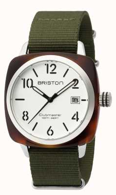 Briston Mens clubmaster classico acetato hms tartaruga guscio bianco 16240.SA.T.2.NGA