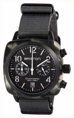 Briston Mens clubmaster classico cacao alpino acetato nero 15140.PBAM.GT.3.NG