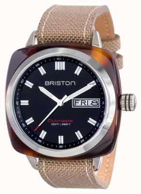 Briston Mens clubmaster sport acetato hms tartaruga guscio nero 15342.SA.TS.1.LSK