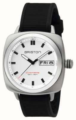 Briston Mens clubmaster sport acciaio hms bianco 16342.S.SP.2.RB
