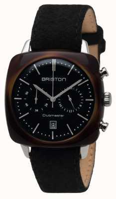 Briston Mens Clubmaster epoca acetato crono guscio di tartaruga nero 16140.SA.TV.1.LFB