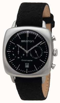 Briston Mens clubmaster nero d'acciaio vintage 16140.S.V.1.LFB