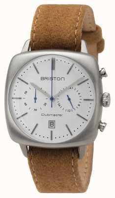 Briston Clubmaster vintage da uomo in acciaio beige 16140.S.V.2.LFCA