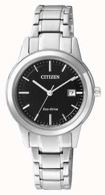 Citizen orologio in acciaio inox signore cittadino silhouette Eco-Drive FE1081-59E