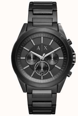 Armani Exchange Acciaio inossidabile nero AX2601