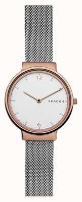 Skagen L'oro rosa di Womans ancher è in oro rosa SKW2616
