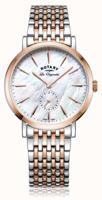 Rotary Womans swiss made Windsor due toni madreperla LB90191/41