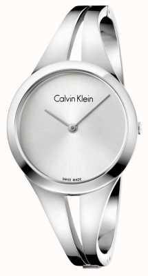 Calvin Klein Braccialetto d'argento dell'acciaio inossidabile di Womans addict K7W2S116