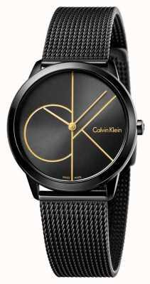 Calvin Klein Womans maglia nera minima K3M224X1