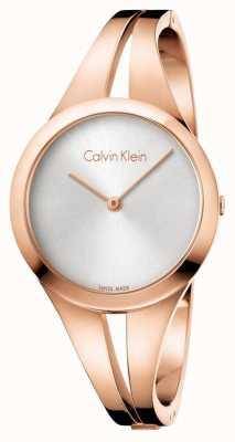 Calvin Klein Braccialetto d'oro rosa del dono della donna K7W2M616
