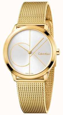 Calvin Klein Womans maglia minima oro K3M22526