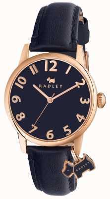 Radley Womans Liverpool Street cinturino in pelle marina RY2456