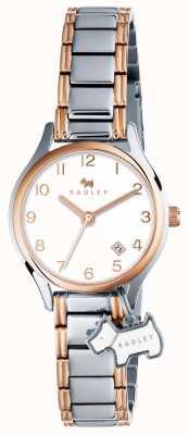 Radley Womans liverpool rosa braccialetto in argento di strada d'oro RY4265
