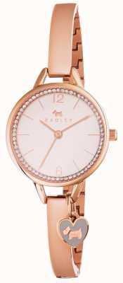 Radley Womans amano braccialetto corsia oro rosa RY4268