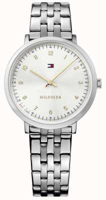 Tommy Hilfiger acciaio argento Pippa Womans 1781762