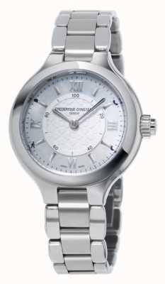 Frederique Constant Womans gioia d'argento SmartWatch orologeria FC-281WH3ER6B
