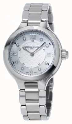 Frederique Constant Womans gioia d'argento SmartWatch orologeria FC-281WHD3ER6B