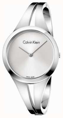 Calvin Klein Braccialetto d'argento in acciaio inossidabile womans m K7W2M116