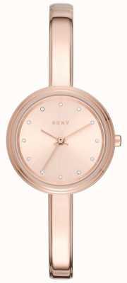 DKNY La vigilanza del braccialetto di rosa di Murray di Womans è aumentata NY2600