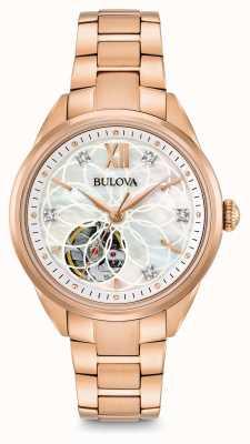 Bulova orologio di diamanti automatica delle donne 97P121