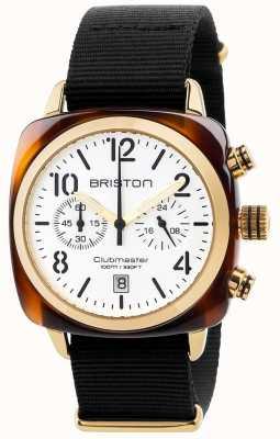 Briston Mens Clubmaster cronografo classico 17140.PYA.T.2.NB