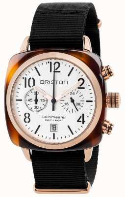 Briston Mens Clubmaster classico 17140.PRA.T.2.NB