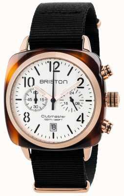 Briston Cronografo da uomo classico clubmaster 17140.PRA.T.2.NB