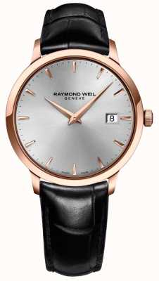 Raymond Weil Mens pelle argento Toccata 5488-PC5-65001