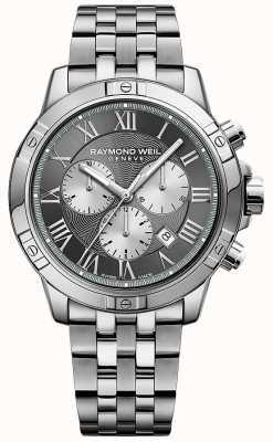 Raymond Weil Cronografo grigio tango uomo 8560-ST-00606