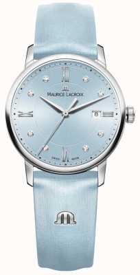 Maurice Lacroix Womans eliros otto diamanti blu EL1094-SS001-550-1