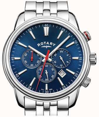 Rotary Cronografo uomo blu monaco GB05083/05