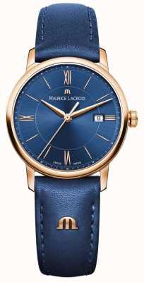 Maurice Lacroix Womans Eliros pelle blu EL1094-PVP01-411-1