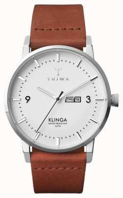 Triwa Mens neve klinga classico marrone KLST109-CL010212