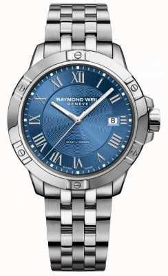 Raymond Weil Quadrante blu acciaio tango uomo argento / blu 8160-ST-00508