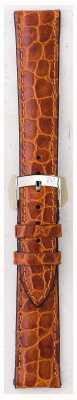 Morellato Solo cinghia - liverpool croc marrone chiaro marrone 20mm A01U0751376037CR20