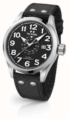 TW Steel Mens volante nero 45mm VS1