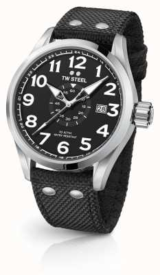 TW Steel Mens volante nero 48mm VS2