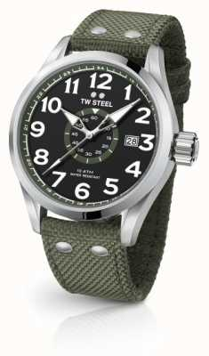 TW Steel Mens volante verde esercito 45mm VS21