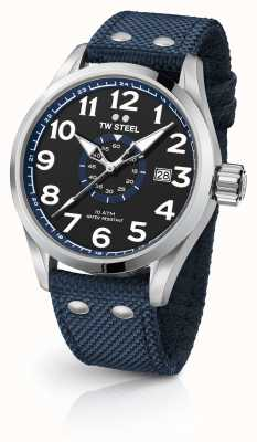TW Steel Mens volante blu 48mm VS32