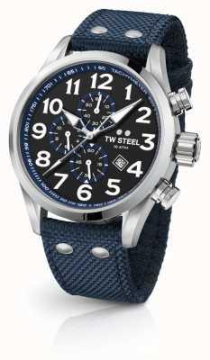 TW Steel Cronografo blu 45 millimetri volante VS33