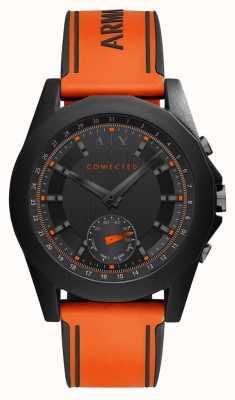 Armani Exchange Cinturino in silicone arancione orologio connesso AXT1003