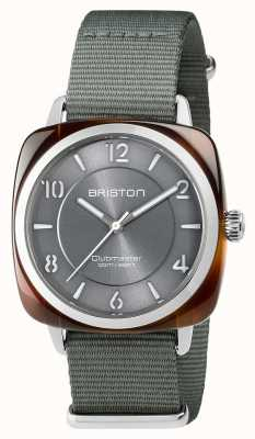 Briston Unisex clubmaster chic acciaio grigio acetato con cinturino nato 17536.SA.T.11.NG
