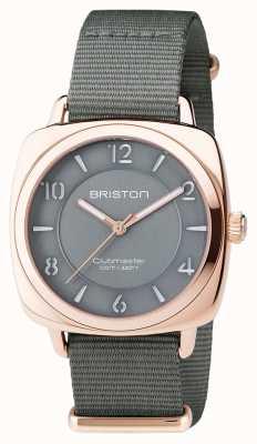 Briston Unisex clubmaster chic grigio pvd oro rosa 17536.SPRG.L.17.NG