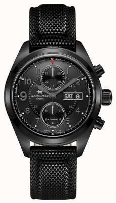 Hamilton Chrono campo auto chrono * orologio di tom clancy's jack ryan * H71626735
