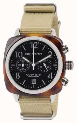 Briston Clubmaster classico acetato - cronografo conchiglia blac 13140.SA.T.1.NK