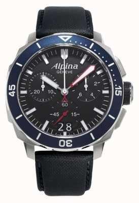 Alpina Mens seastrong diver 300 grande data AL-372LBN4V6