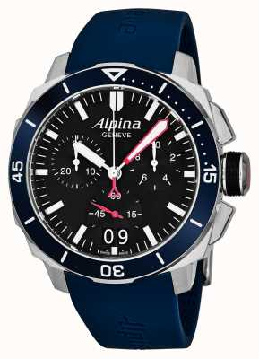 Alpina Mens seastrong diver 300 grande data AL-372LBN4V6